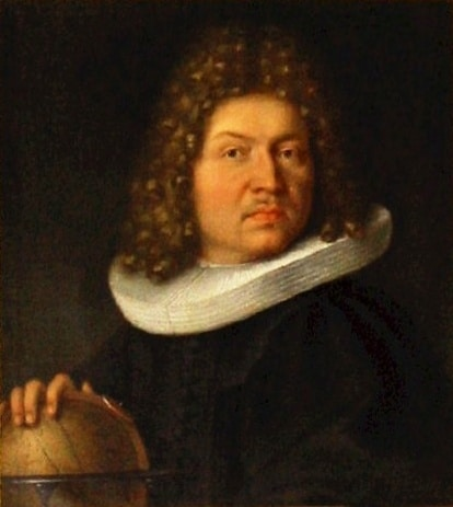A portrait of Jacob Bernoulli