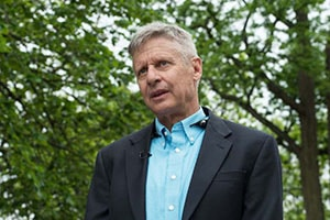Photo of presidential candidate Gary Johnson