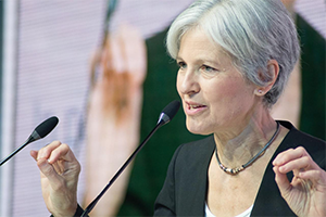 Photo of presidential candidate Jill Stein