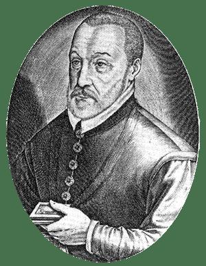 A portrait of Blaise de Vigenère
