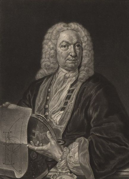 A portrait of Johann Bernoulli