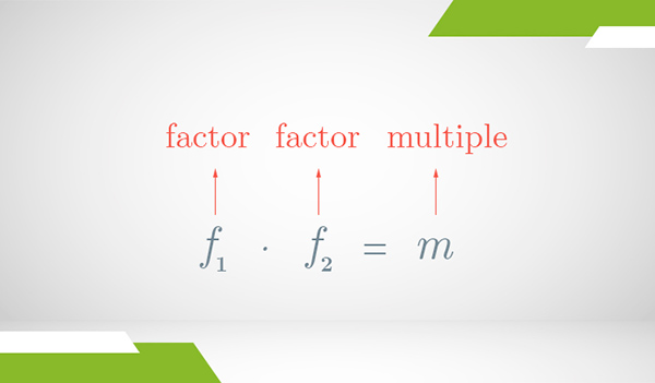 A product of two factors resulting in a common multiple